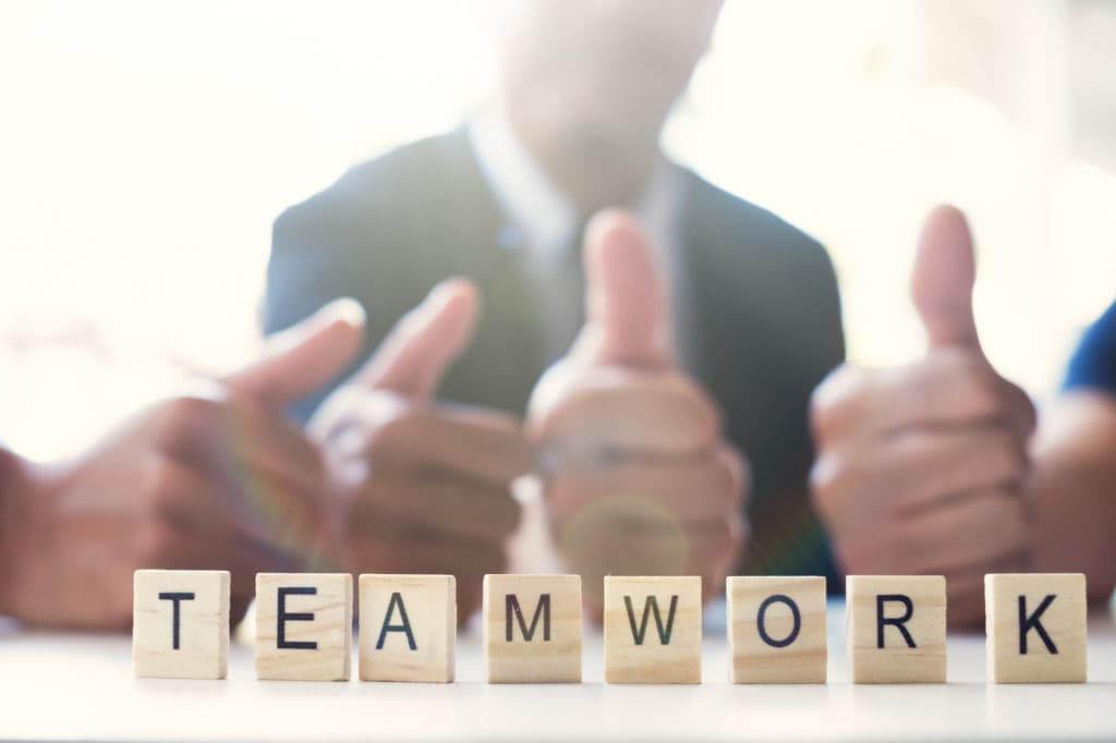 equipo motivado