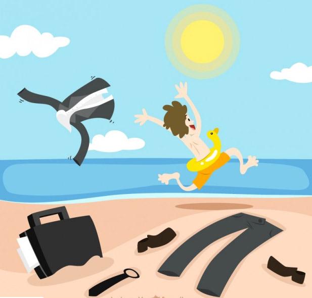 Condiciones vacaciones con el contrato de formación