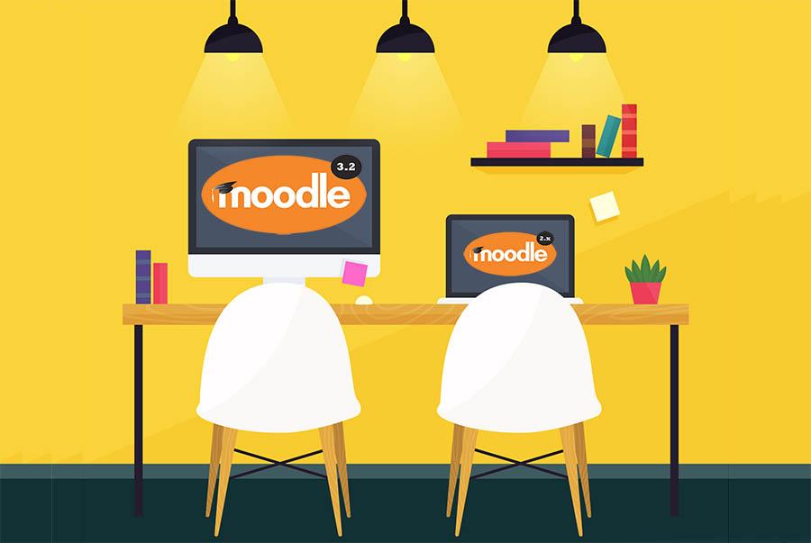 moodle en la formacion online