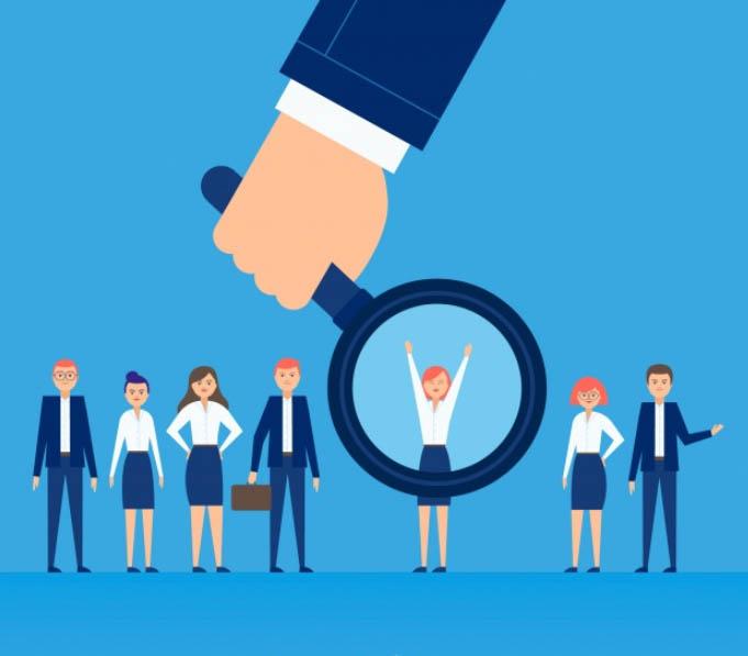 Consultoría en recursos humanos - empleados en el trabajo del futuro