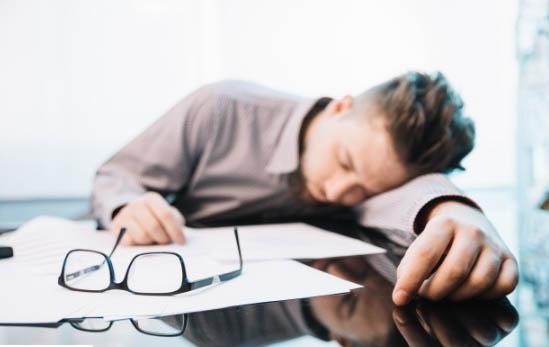 Baja Productividad por la falta de sueño