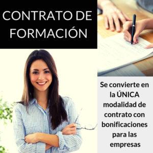 Novedades laborales - Único contrato bonificable