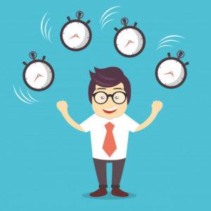 Registro horario diario de los trabajadores